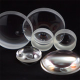 Double convex spherical lenses